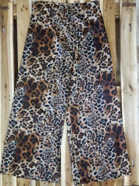 Дамски панталон в леопардов принт